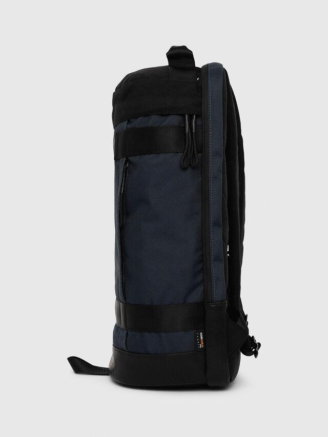Diesel - PIEVE, Dark Blue - Backpacks - Image 3