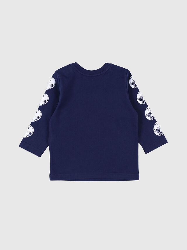 Diesel - TEFFRUB, Navy Blue - T-shirts and Tops - Image 2