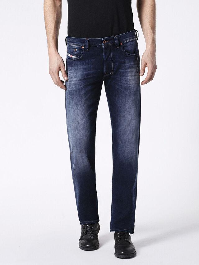 Diesel - Larkee 0860L, Dark Blue - Jeans - Image 2