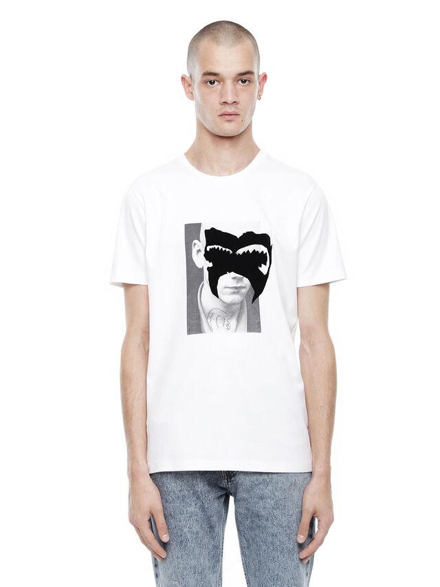 Diesel - TY-M4, White - T-Shirts - Image 1