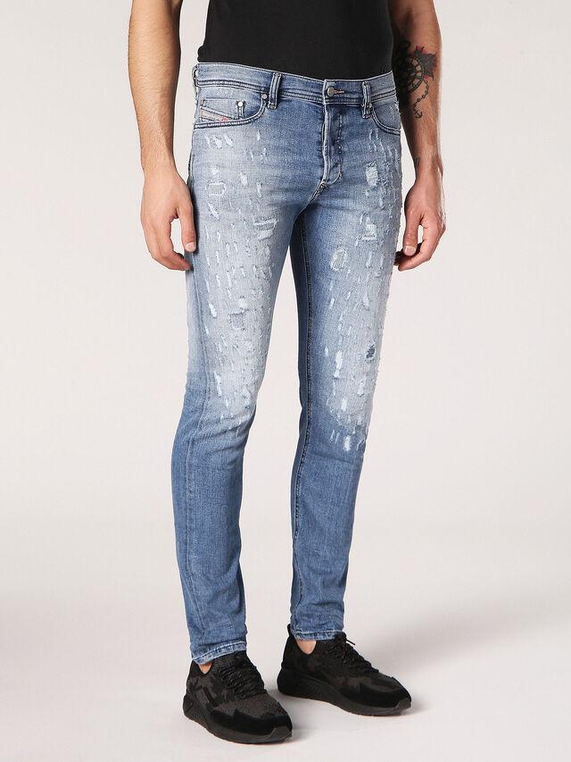 Diesel - Tepphar 084QS, Light Blue - Jeans - Image 3