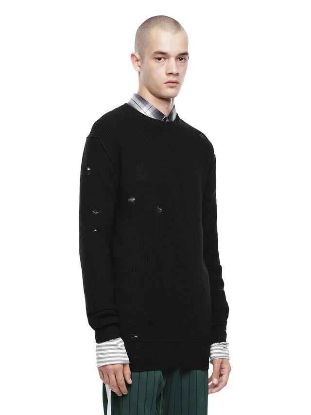 Diesel - KABUCO, Black - Sweaters - Image 1