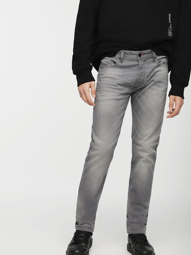 Diesel - Buster C84HP, Light Grey - Jeans - Image 1