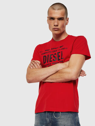 1bf6378066d784 Mens T-shirts: logo, graphics | Diesel Online Store
