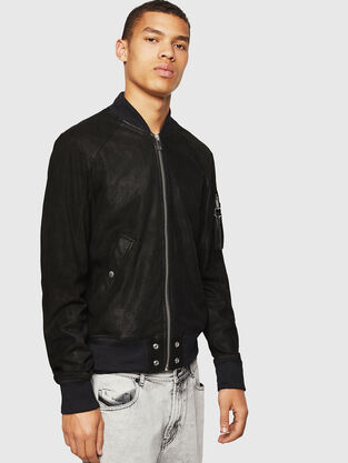 7b312fab7e3 Mens Leather Jackets | Diesel Online Store