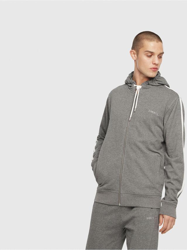 Diesel - UMLT-BRANDON-Z, Grey - Sweatshirts - Image 1