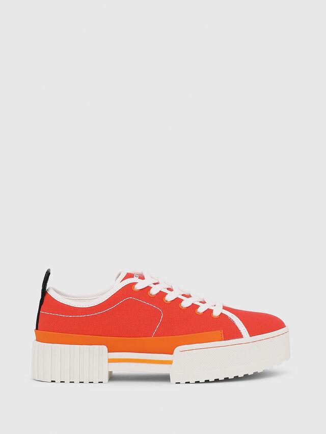 Diesel - S-MERLEY LC, Orange - Sneakers - Image 1