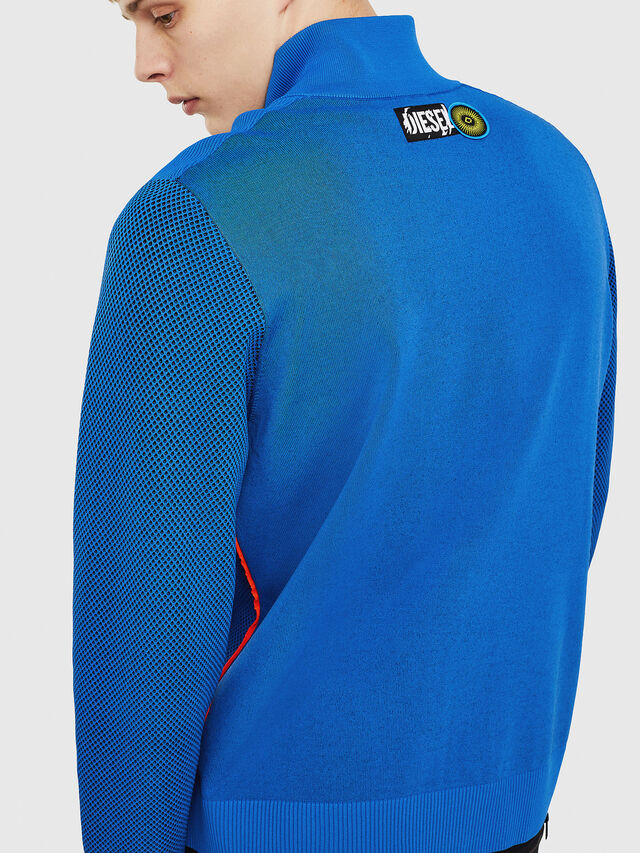 Diesel - K-TRAFFIC, Brilliant Blue - Sweaters - Image 2