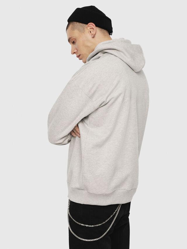 Diesel - S-DIVISION, Grey - Sweatshirts - Image 2