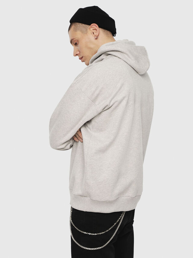 Diesel - S-DIVISION, Light Grey - Sweatshirts - Image 2