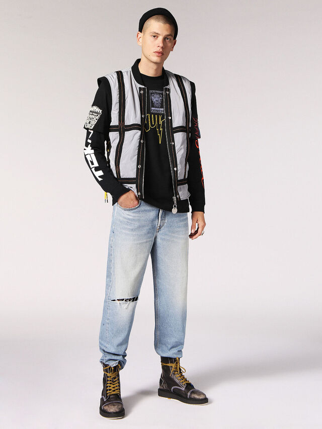 Diesel - D-CAGE DBB, Anthracite - Boots - Image 4