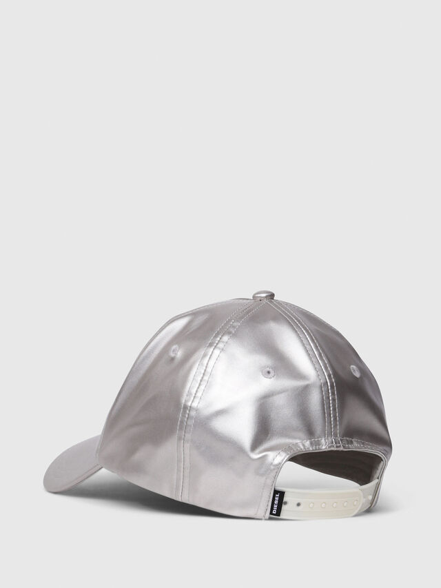 Diesel - C-RAMAX, Silver - Caps, Hats and Gloves - Image 2