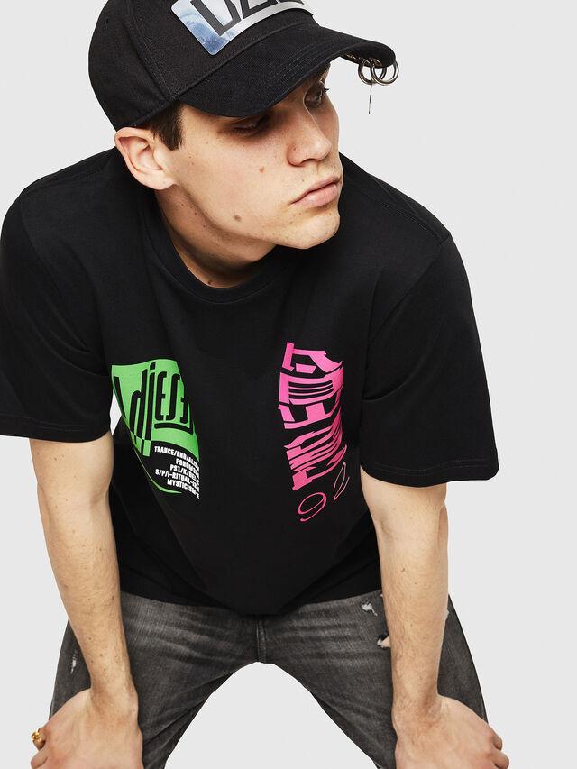 Diesel - T-JUST-Y20, Black - T-Shirts - Image 4