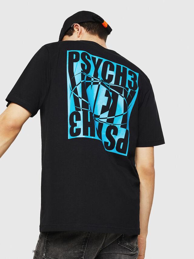 Diesel - T-JUST-Y20, Black - T-Shirts - Image 2