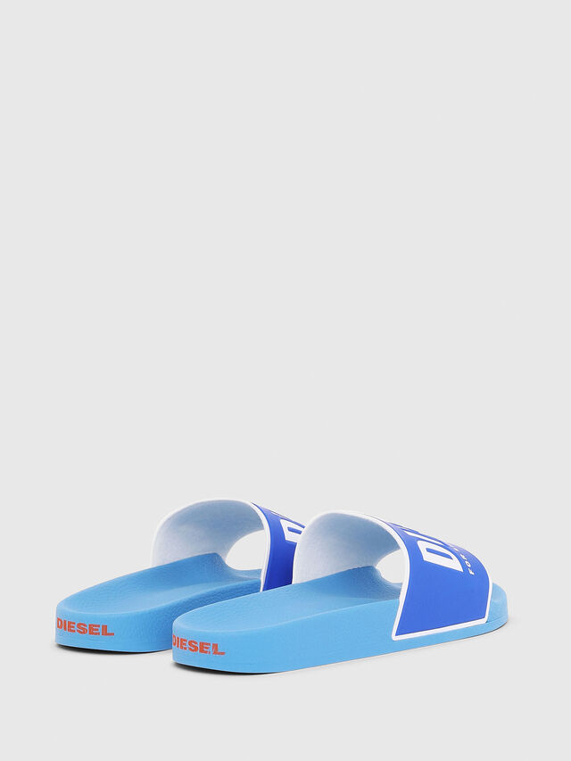 Diesel - SA-VALLA, Azure - Slippers - Image 3