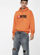 S-DIVISION, Orange - Sweatshirts