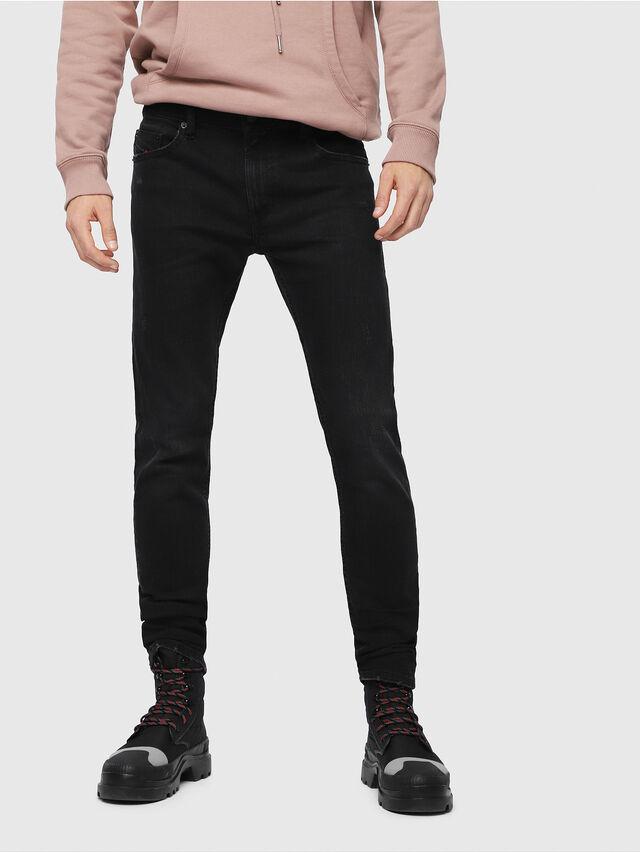 Diesel - Thommer C69AC, Black/Dark Grey - Jeans - Image 1