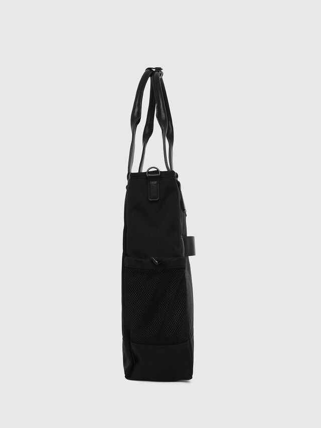 Diesel - F-URBHANITY TOTE, Black - Shopping and Shoulder Bags - Image 3