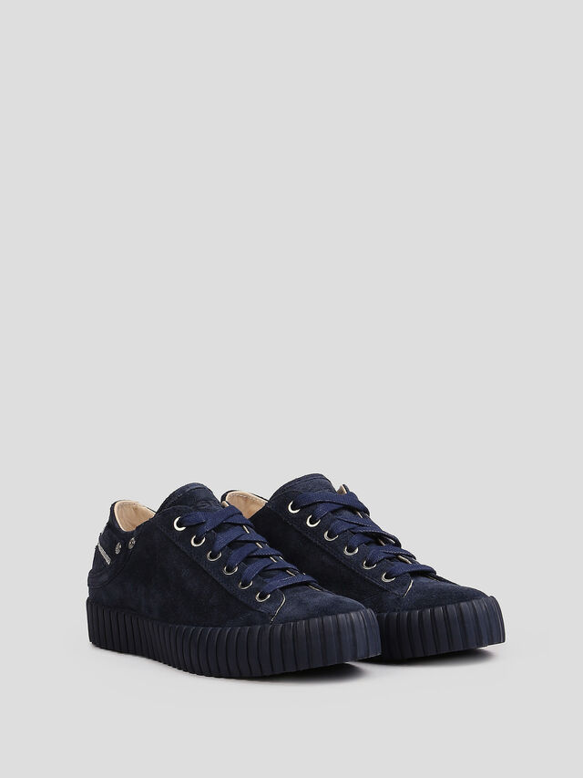 Diesel - S-EXPOSURE CLC W, Blue - Sneakers - Image 3