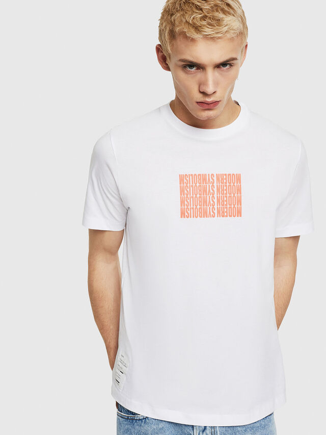 Diesel - T-JUST-Y11, White - T-Shirts - Image 1