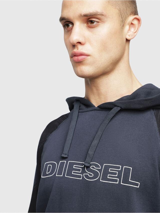 Diesel - UMLT-BRIAN, Blue - Sweatshirts - Image 3
