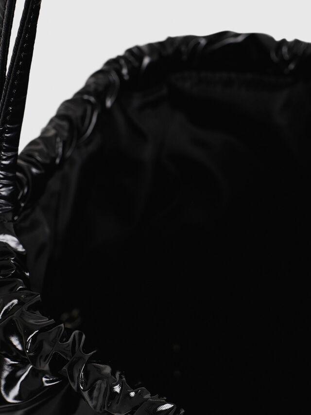 Diesel - F-THISBAG MONO, Black - Backpacks - Image 4