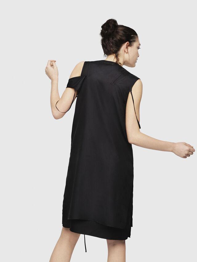 Diesel - D-MAHO, Black - Dresses - Image 2