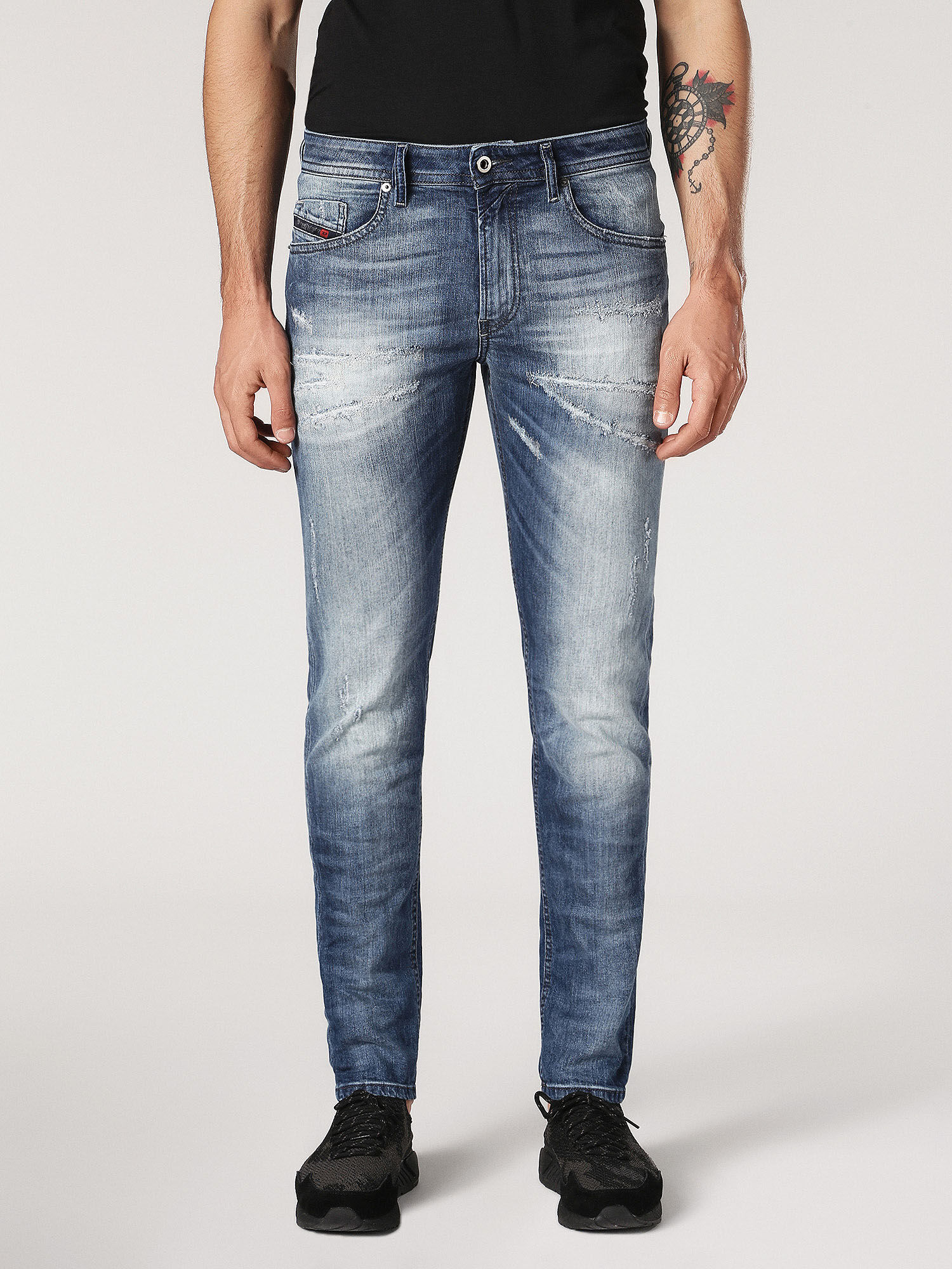 Jeans On Sale, Blue Denim, Cotton, 2017, 29 30 36 Diesel