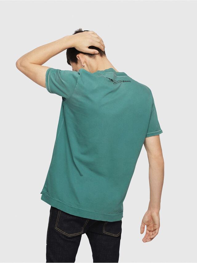 Diesel - T-SHOJI, Dark Green - T-Shirts - Image 2