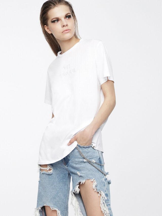 Diesel - T-DARIA, White - T-Shirts - Image 1