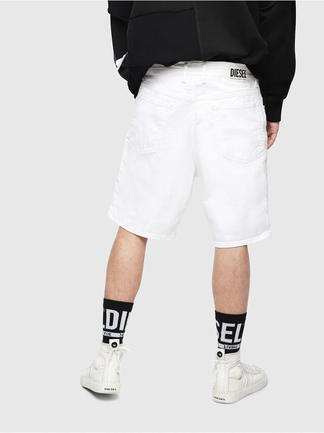 Diesel - D-WILLOH, White - Shorts - Image 2