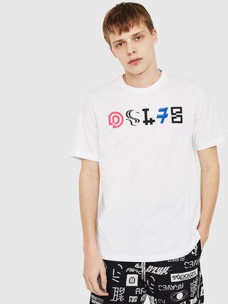 79ded53da0 Regular T-shirt with DSL78 print