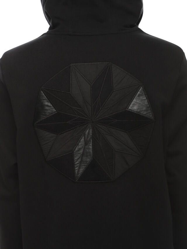 Diesel - SNEILBOOD-PATCHWORK, Black - Sweatshirts - Image 4