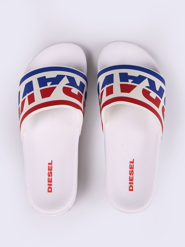 Diesel - SA-MARAL, White - Slippers - Image 2