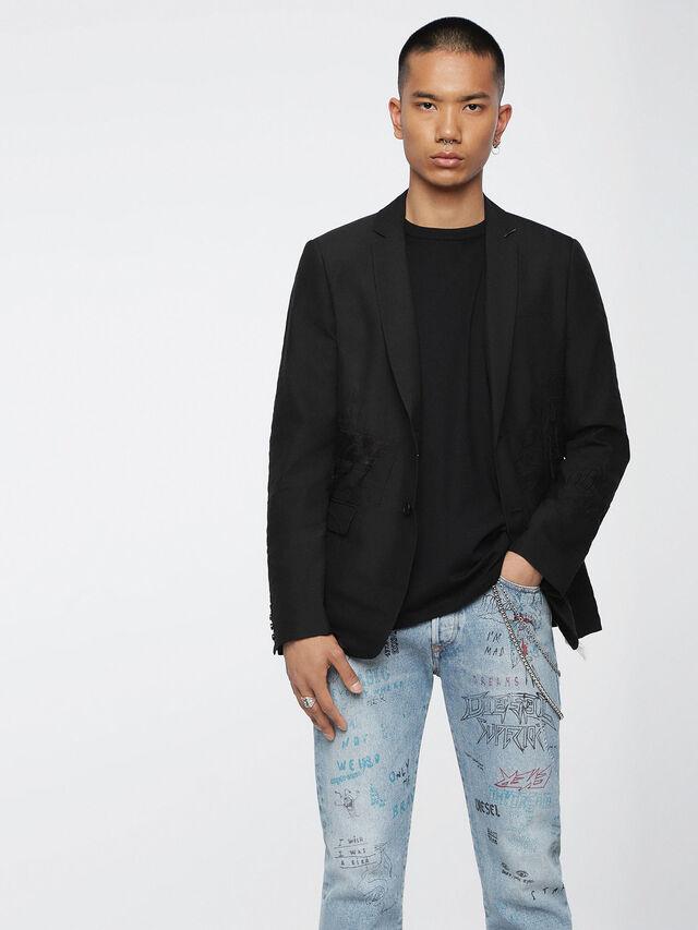Diesel - J-EMMIE, Opaque Black - Jackets - Image 1