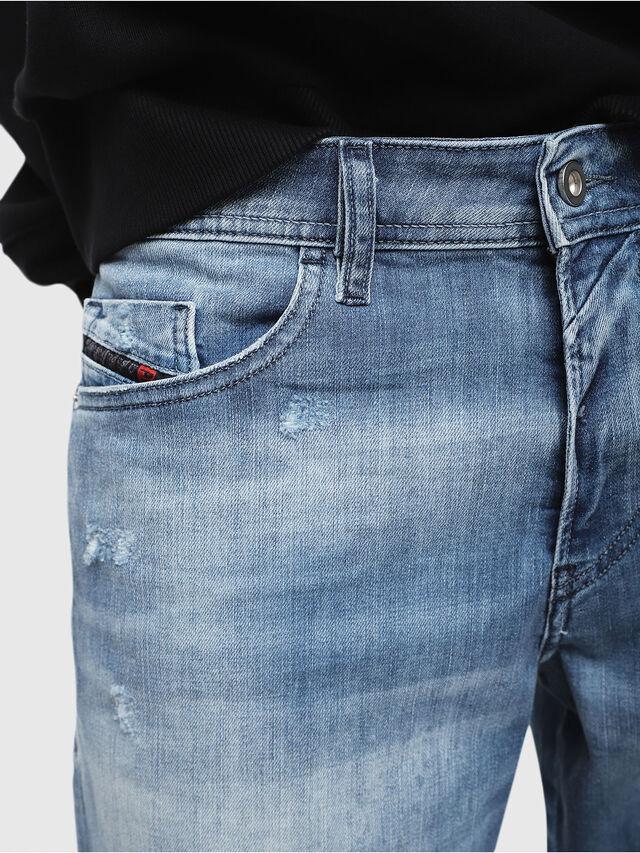 Diesel - THOSHORT, Medium Blue - Shorts - Image 3