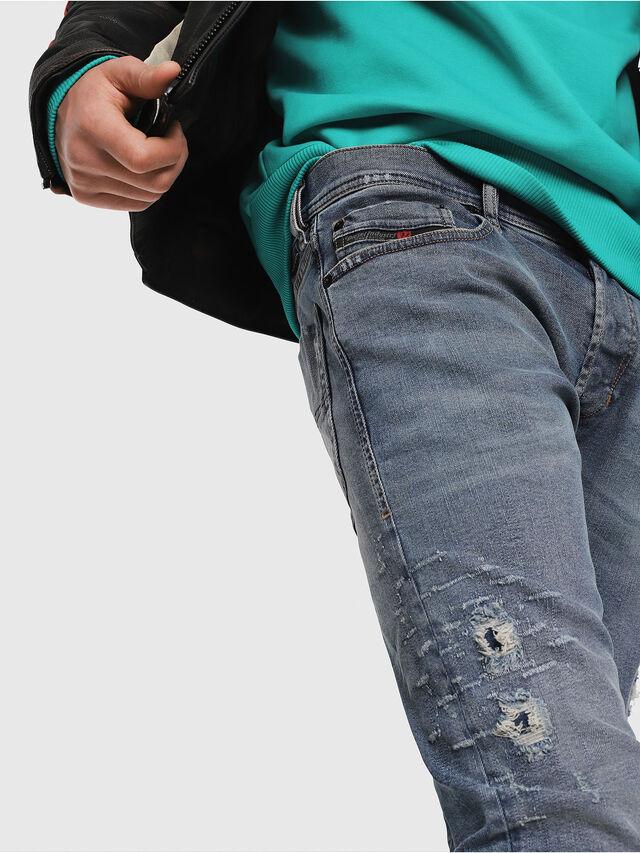 Diesel - Tepphar 080AC, Medium Blue - Jeans - Image 4