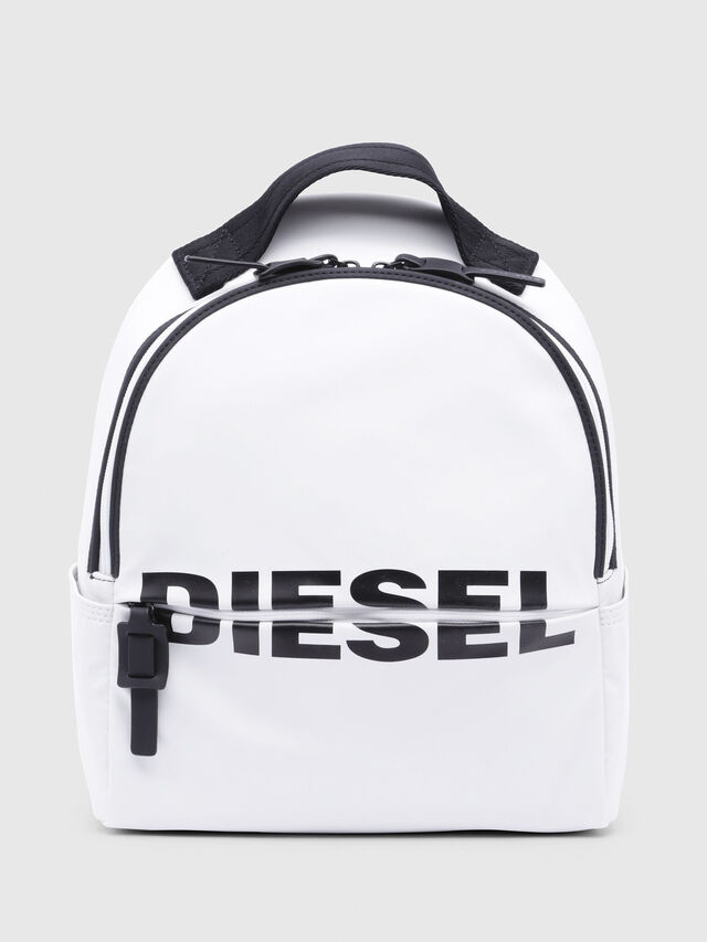 Diesel - F-BOLD BACK FL, White - Backpacks - Image 1