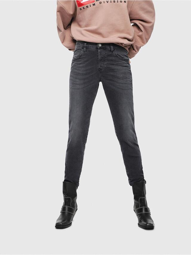 Diesel - Babhila 069EQ, Black/Dark Grey - Jeans - Image 1