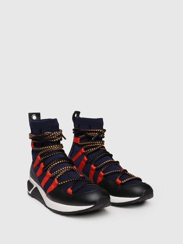 Diesel - S-KB LOOP SOCK, Black/Red - Sneakers - Image 3