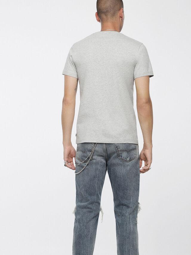 Diesel - T-DIEGO-XC, Light Melange - T-Shirts - Image 2