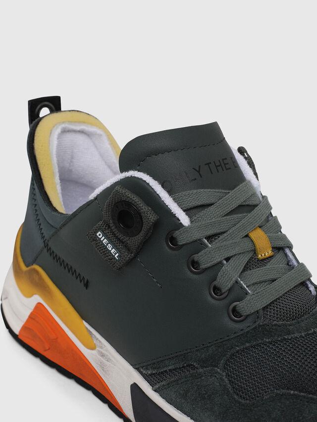 Diesel - S-BRENTHA LC, Green - Sneakers - Image 4