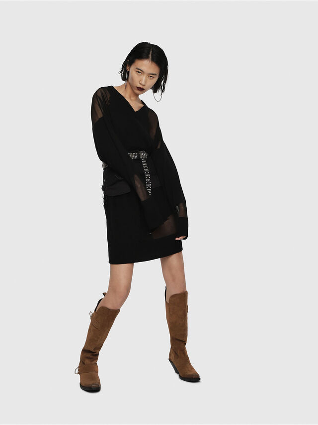 Diesel - M-LILY, Black - Dresses - Image 3
