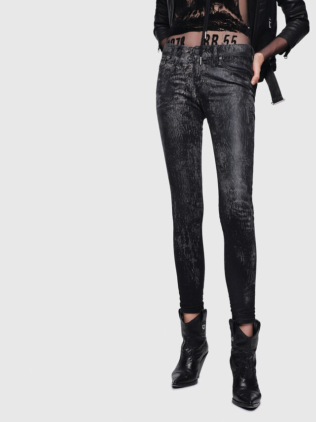 Diesel - Slandy 069DE, Black/Dark Grey - Jeans - Image 1