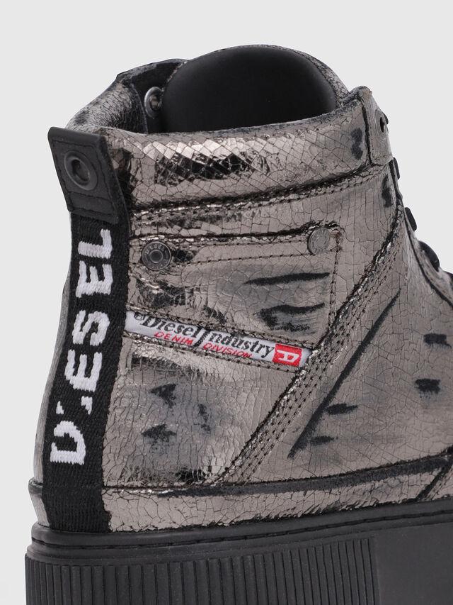 Diesel - S-DANNY MC II W, Silver/Black - Sneakers - Image 4