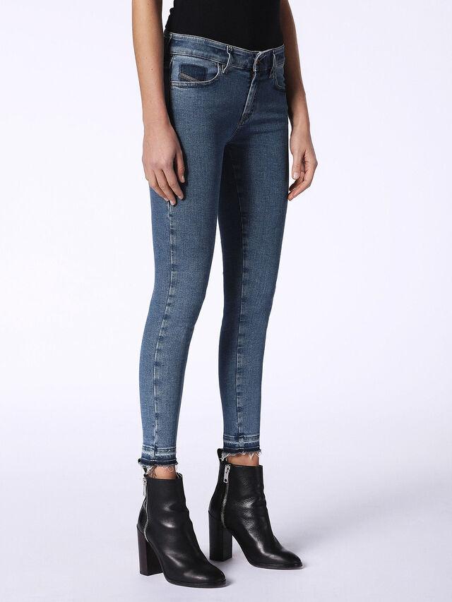 Diesel - Slandy 0699I, Blue Jeans - Jeans - Image 5