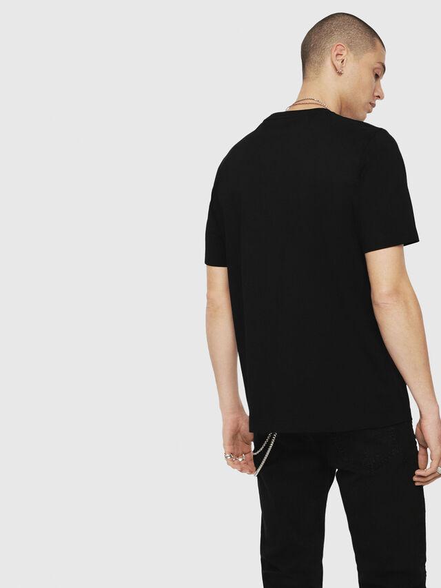 Diesel - T-JUST-YZ, Black - T-Shirts - Image 2
