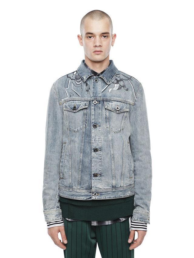 Diesel - JARTEGRAF, Blue Jeans - Jackets - Image 1