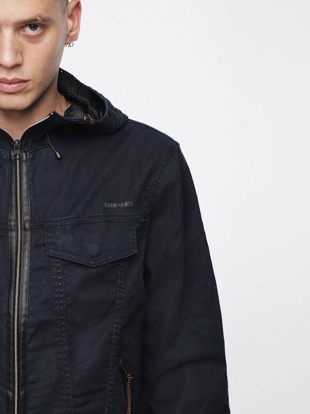 Diesel - MONSHI JOGGJEANS, Dark Blue - Denim Jackets - Image 5