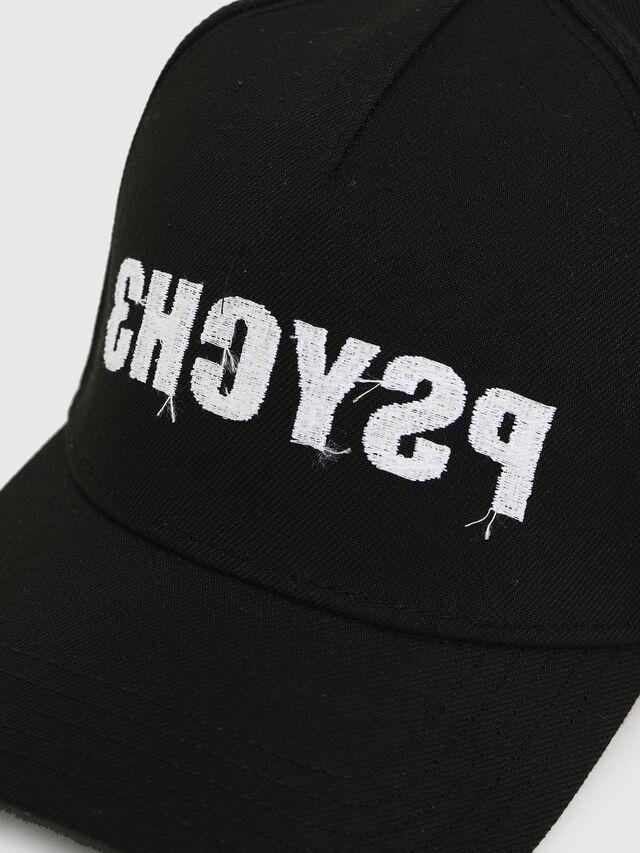 Diesel - C-HAN, Black - Caps, Hats and Gloves - Image 3